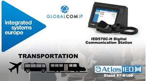 AtlasIED Shows New IED570 GLOBALCOM® Digital Communication Station at ISE 2020