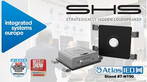 AtlasIED Brings Back Award-Winning SHS Series Strategically Hidden Speaker to ISE 2020