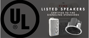 AtlasIED Introduces New UL Listed Speakers for Fire Signaling and Alarms