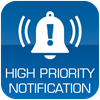 High Priority Notification