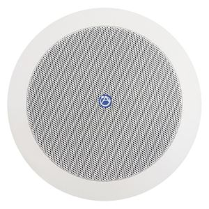 """Picture of 5 1/4"""" Coaxial In-Ceiling Speaker with 6-Watt 70/100V Transformer and Ported Enclosure"""