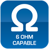 6-Ohm Capable