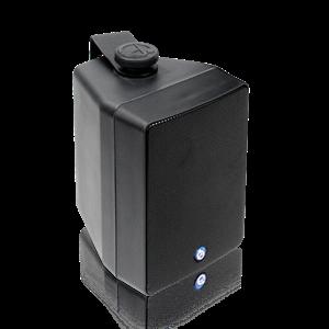 "Picture of EN54-24 Certified 4"" 2-Way All Weather Speaker with 16-Watt 70V/100V Transformer - Black"