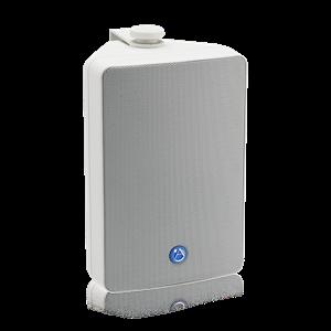 "Picture of EN54-24 Certified 5.25"" 2-Way All Weather Speaker with 30-Watt 70V/100V Transformer - White"