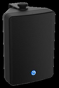 "Picture of EN54-24 Certified 6.5"" 2-Way All Weather Speaker with 32-Watt 70V/100V Transformer - Black"