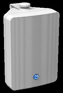 "Picture of EN54-24 Certified 6.5"" 2-Way All Weather Speaker with 32-Watt 70V/100V Transformer - White"