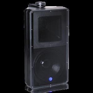 "Picture of EN54-24 Certified 8"" 2-Way All Weather Speaker with 60-Watt 70V/100V Transformer - Black"