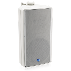 "Picture of EN54-24 Certified 8"" 2-Way All Weather Speaker with 60-Watt 70V/100V Transformer - White"