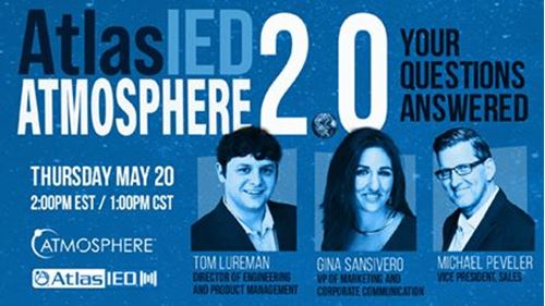 Atmosphere 2.0: Your Questions Answered