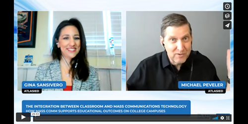Using Mass Communications to Support Successful Student Outcomes in Higher Education