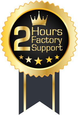 2 Hours Factory Support