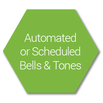 Automated & Scheduled Bells and Tone