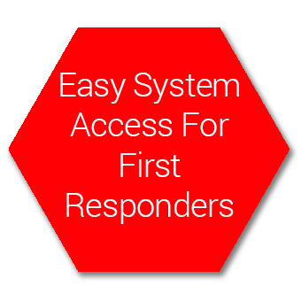Easy System Access for First Responders